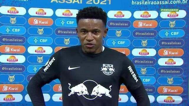 """Autor do gol da virada, Eric Ramires fala sobre intensidade do Bragantino: """"Nossa identidade"""""""