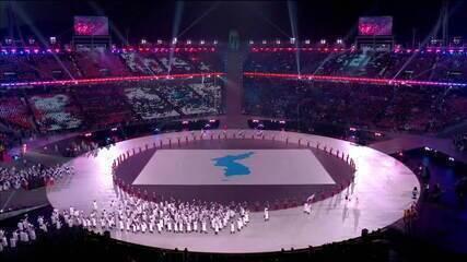 Coréia do Norte e Coreia do Sul se reúnem para os Jogos de Inverno