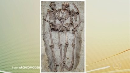 """Researchers find that skeletons """"Modena lovers"""" are men"""