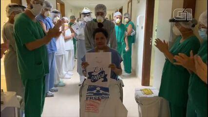 Grávida de 26 semanas recebe alta após contrair a Covid-19 no Maranhão
