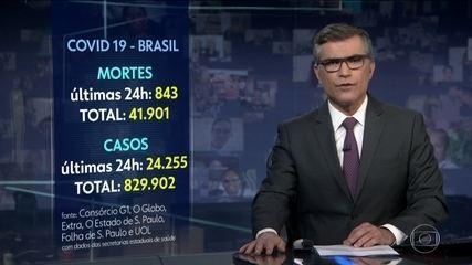 Brasil ultrapassa o Reino Unido e se torna o 2º país com mais mortes pela Covid-19