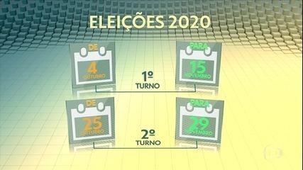 Congresso promulga emenda constitucional que adia eleições municipais para novembro