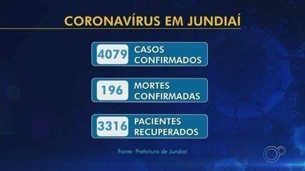 Jundiaí registra mais oito mortes por coronavírus e soma 196 óbitos; são 4.079 casos