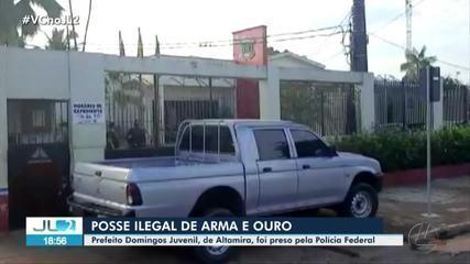 Prefeito de Altamira é preso durante operação da Polícia Federal