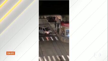 Bandidos atacam agência bancária e fazem reféns em Criciúma / SC