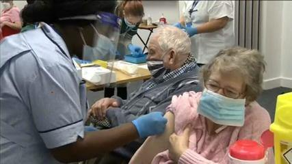 Vacinação no Reino Unido e Israel já apresenta bons resultados