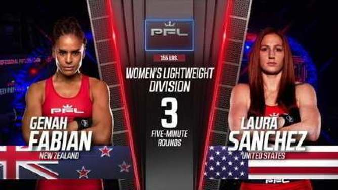 PFL 2021 #3 - Genah Fabian x Laura Sanchez