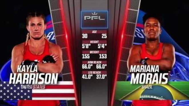 PFL 2021 #3 - Kayla Harrison x Mariana Morais
