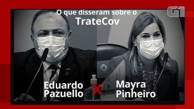 TrateCov: O que disseram Pazuello e Mayra Pinheiro sobre o aplicativo na CPI
