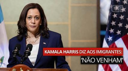 "VIDEO: Kamala Harris tells immigrants: ""don't come"""