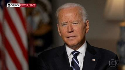 Biden says chaos was inevitable in Afghanistan after US troops left