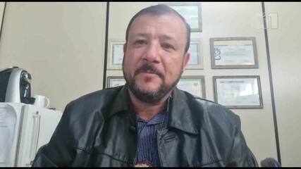 Delegate Vilson Almeida talks about the woman's body found in Barra de Guaratiba