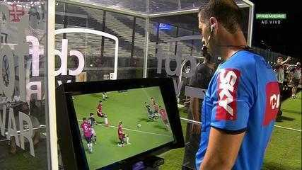 At 36 of the 1st half - after analysis by the VAR, the referee annuls the penalty in favor of Vasco