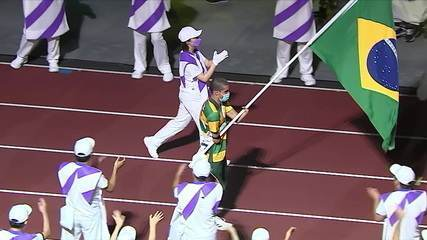 The best moments of the closing ceremony of the Tokyo Paralympic Games