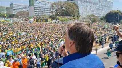 'Either the head of that power frames yours, or that power can suffer what we don't want,' says Bolsonaro