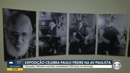Exposição celebra centenário de Paulo Freire