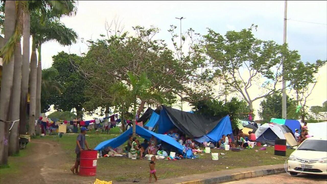 Resultado de imagem para governo Michel Temer decidiu criar, na fronteira com a Venezuela, uma estrutura para acolher os imigrantes
