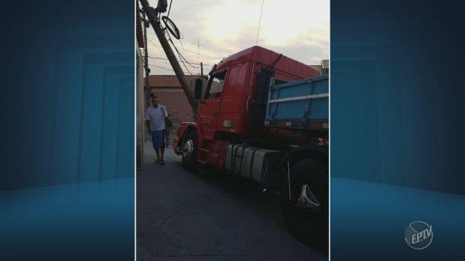 Homem morre em Campinas durante reparos em caminhão
