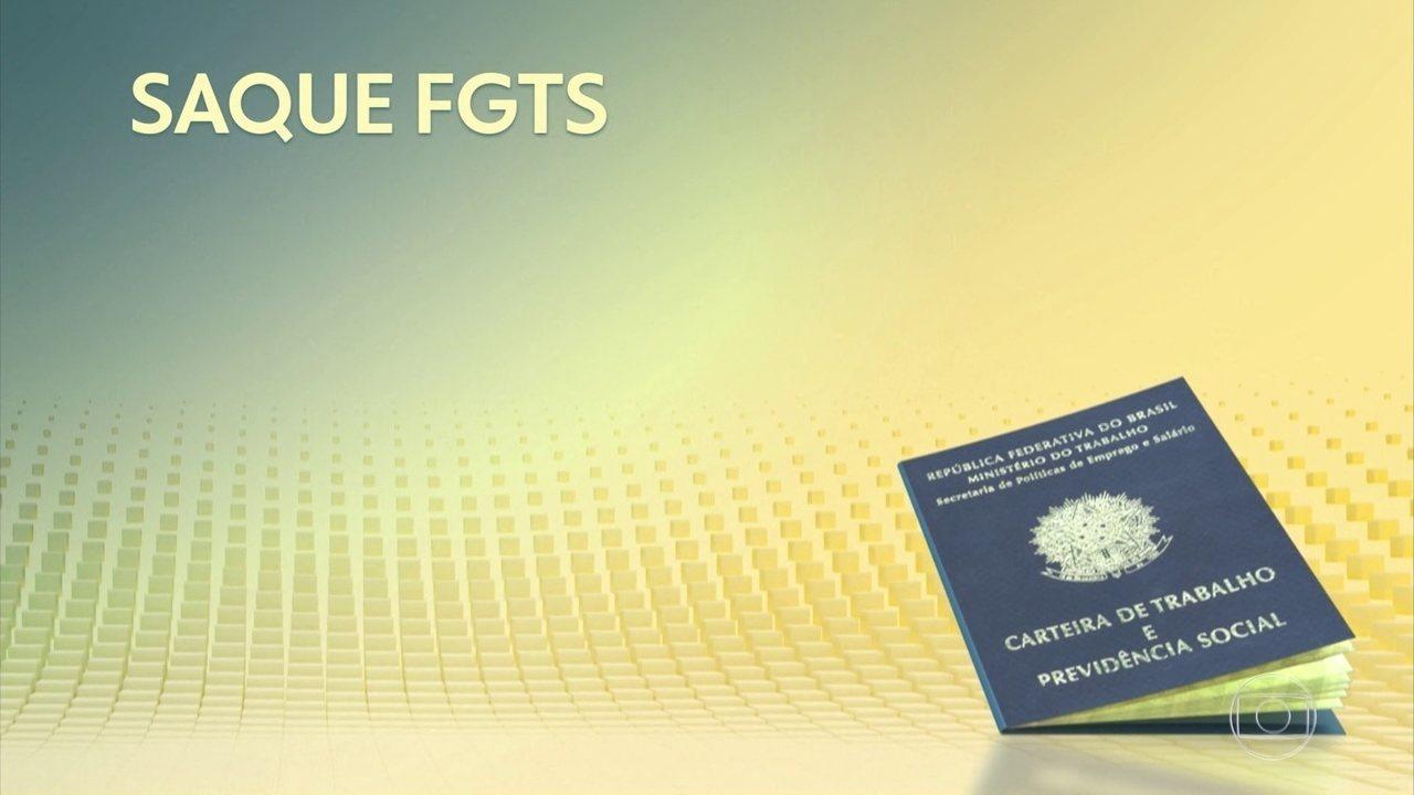 8084443 - Saques de até R$ 998 do FGTS poderão ser feitos em 20 de dezembro