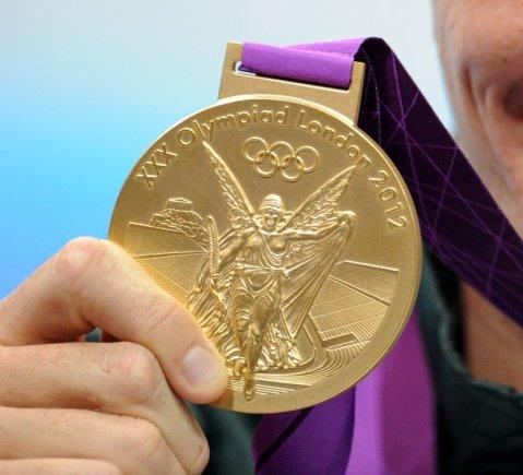 Alfredo Pliadžio nuotr./Londono olimpiados aukso medalis
