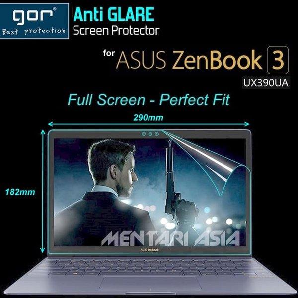 Aksesoris Laptop Screen Protector for ASUS ZenBook 3 UX390UA - GOR Full Screen MATTE