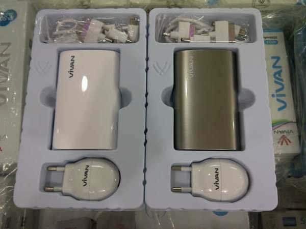 Vivan Powerbank U06 - 6600mAh
