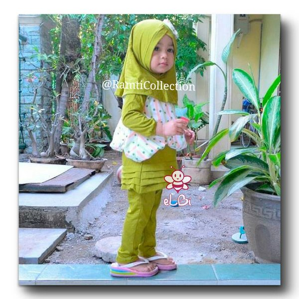 eLBi-Baju lebaran balita-Little Bee Boutique I uliya