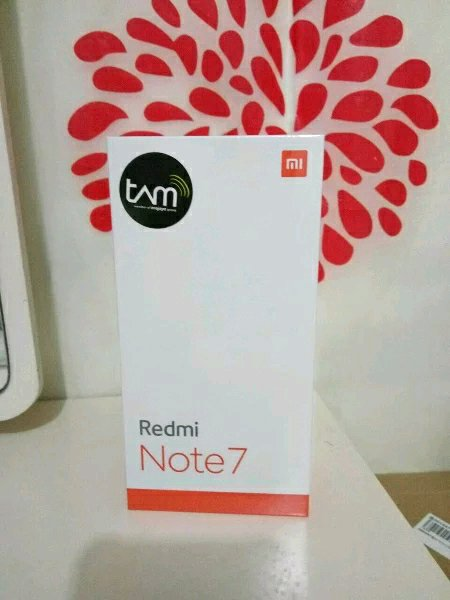 Xiaomi redmi note 7 garansi resmi TAM 3 32GB 4 64GB HITAM BLACK handphone