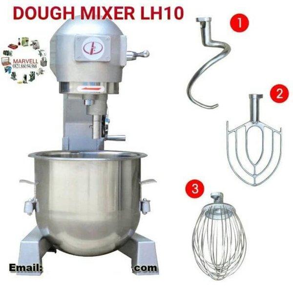 Diskon Mixer Roti B10 - Mesin Pengaduk adonan Kapasitas 3 Kg 10 Liter