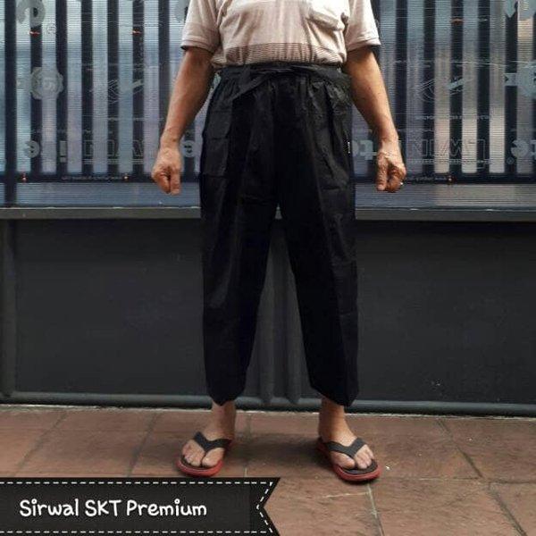 TURUN HARGA Celana Sirwal Pangsi Tali BOXER JUMBO PTBJ