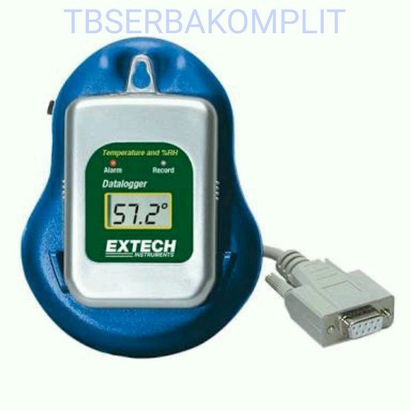 Extech 42275 Temperature Humidity Datalogger Kit with Docking Station and PC Interface Software Bisa Connect Komputer