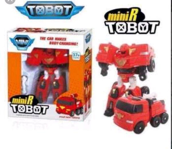 Mainan Tobot Mini R Transformer Robot Mobil mini R