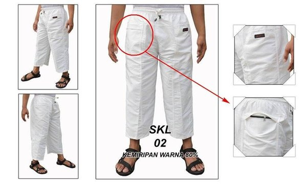 PROMO Celana Panjang Cargo katun Pangsi Sirwal JUMBO JPP001