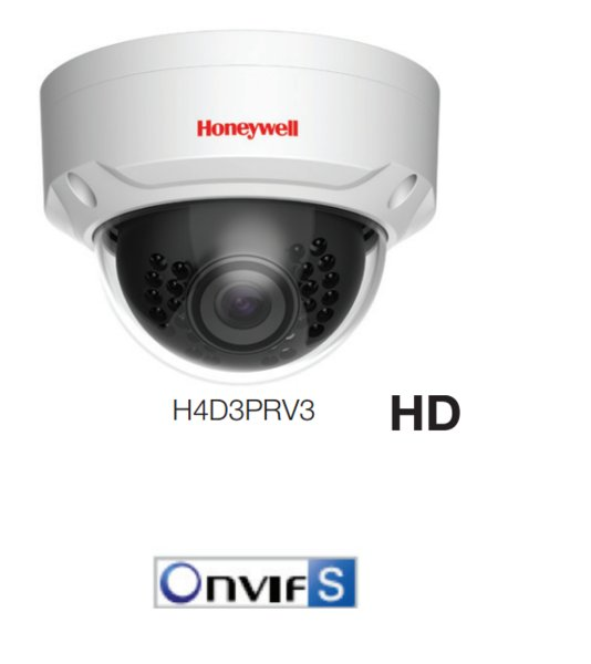 Honeywell H4D3PRV3 IP Camera CCTV