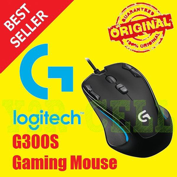 Logitech G300S Gaming Mouse ORIGINAL