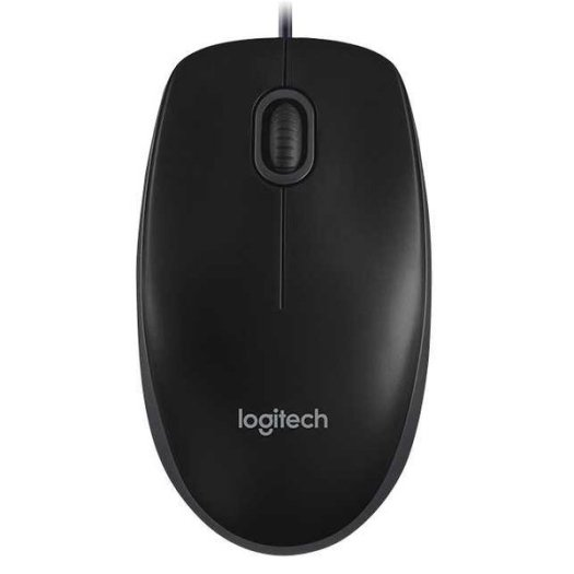 Logitech Mouse USB Kabel Laptop Komputer - B100