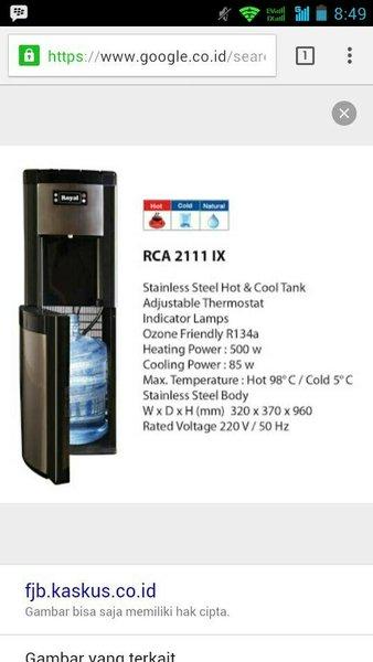 dispenser royal RCA 2111 ix