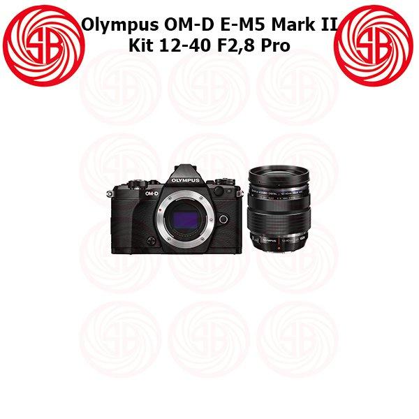 Kamera Olympus OMD EM 5 Mark 2 Black + 12-40mm F2,8 Pro, OM-D E-M5 Mark II