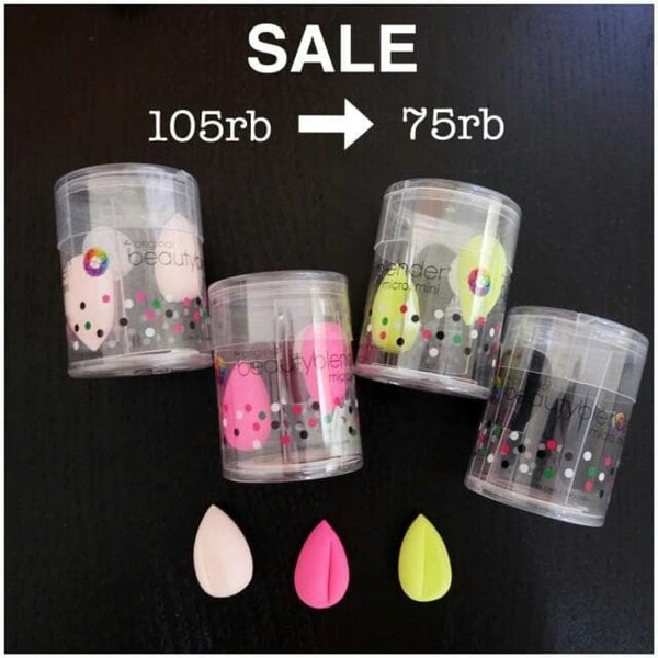 Defect Beauty blender micro mini isi 2pcs