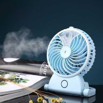 Kipas Angin Air Embun USB Rechargeable Mini Fan Portable - A29