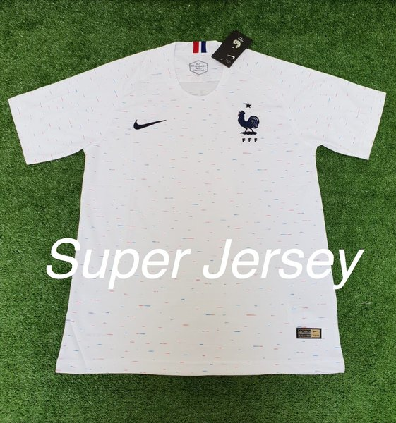 Jersey Grade Ori Perancis Away Jersey France Away World Cup 2018