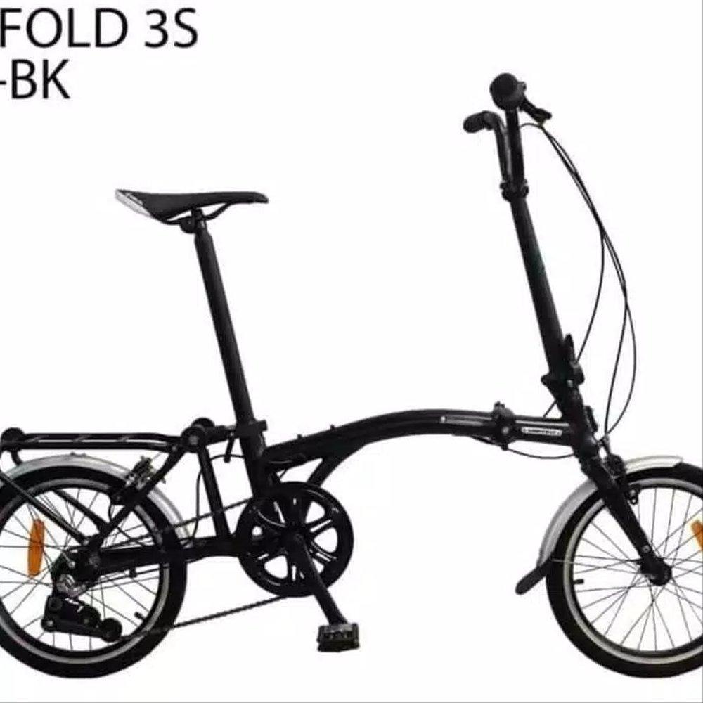 Jual Sepeda Lipat 16 Inch United Trifold 3S Boncengan di ...