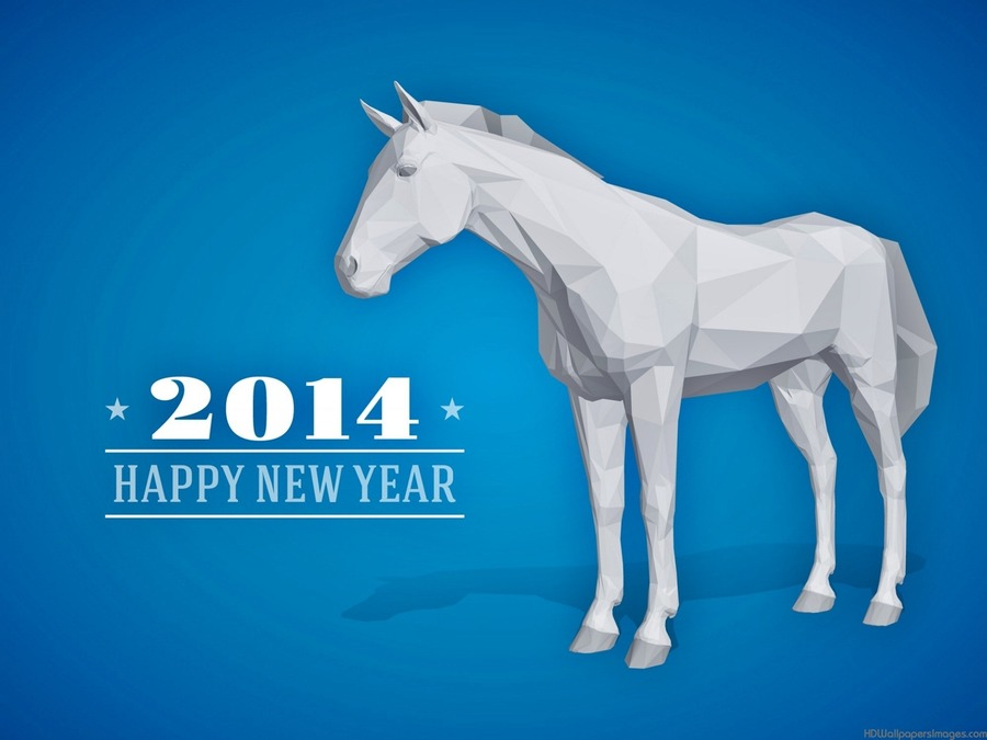 Happy New Year 2014 Desktop Wallpaper
