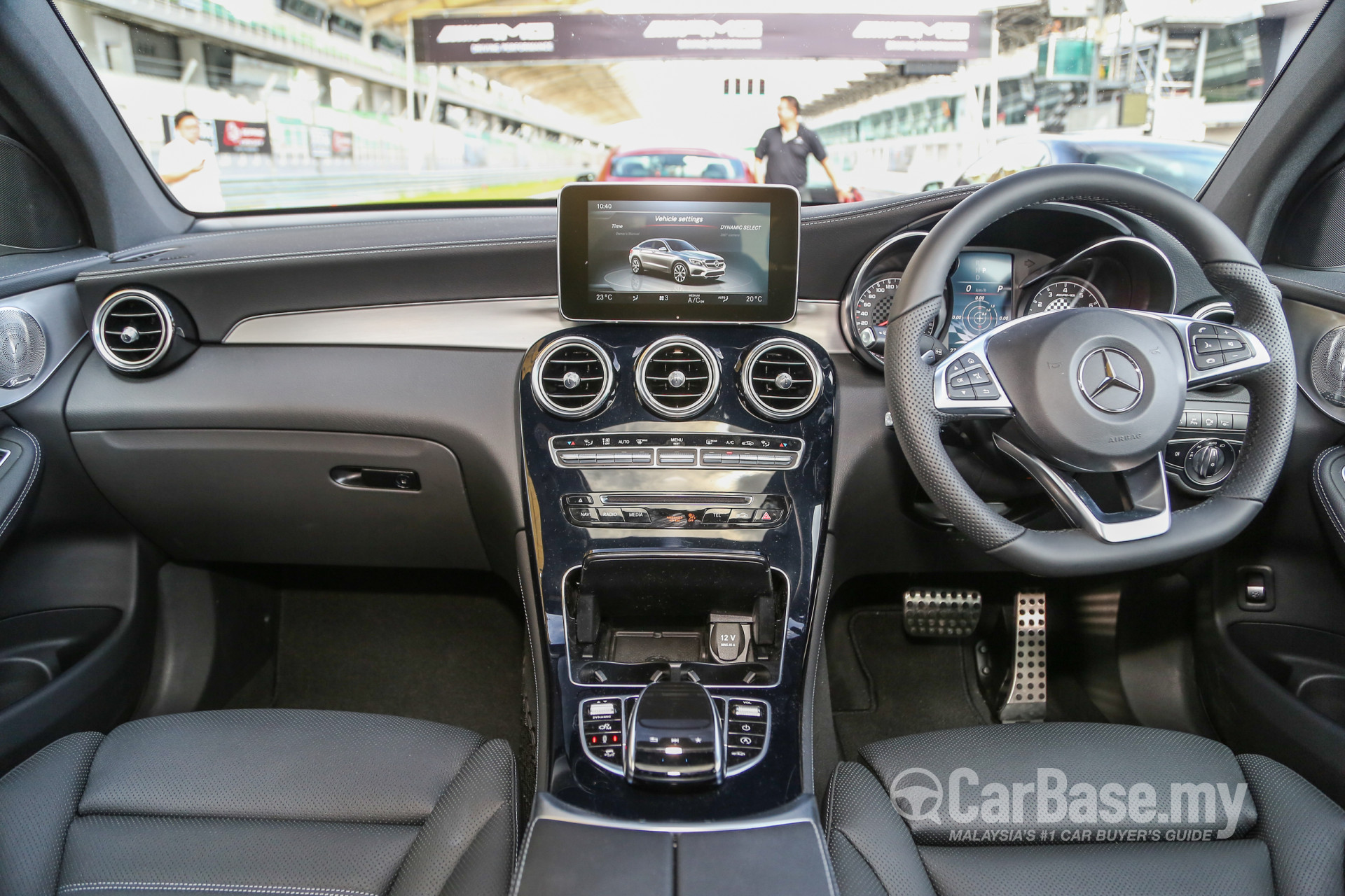 Mercedes Benz GLC Coupe AMG C253 2017 Interior Image In