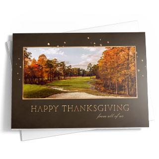 USGAcardshop Golf Themed Holiday Cards
