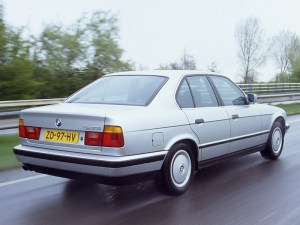 BMW 5 Series (E34) specs & photos  1988, 1989, 1990, 1991