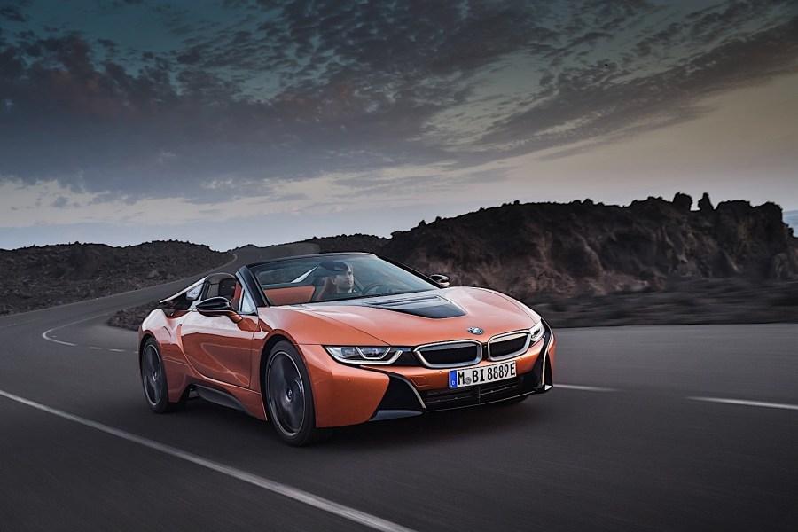 BMW i8 Roadster specs & photos - 2018, 2019, 2020 ...