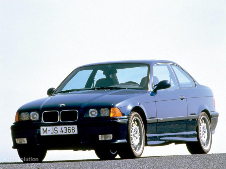 BMW M3 Coupe (E36) specs & photos - 1992, 1993, 1994, 1995 ...