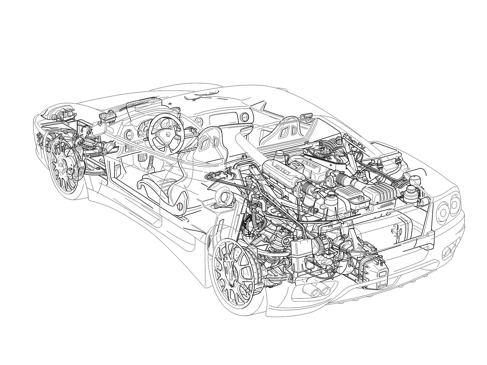 Ferrari 360 Challenge Stradale F 131 Specs