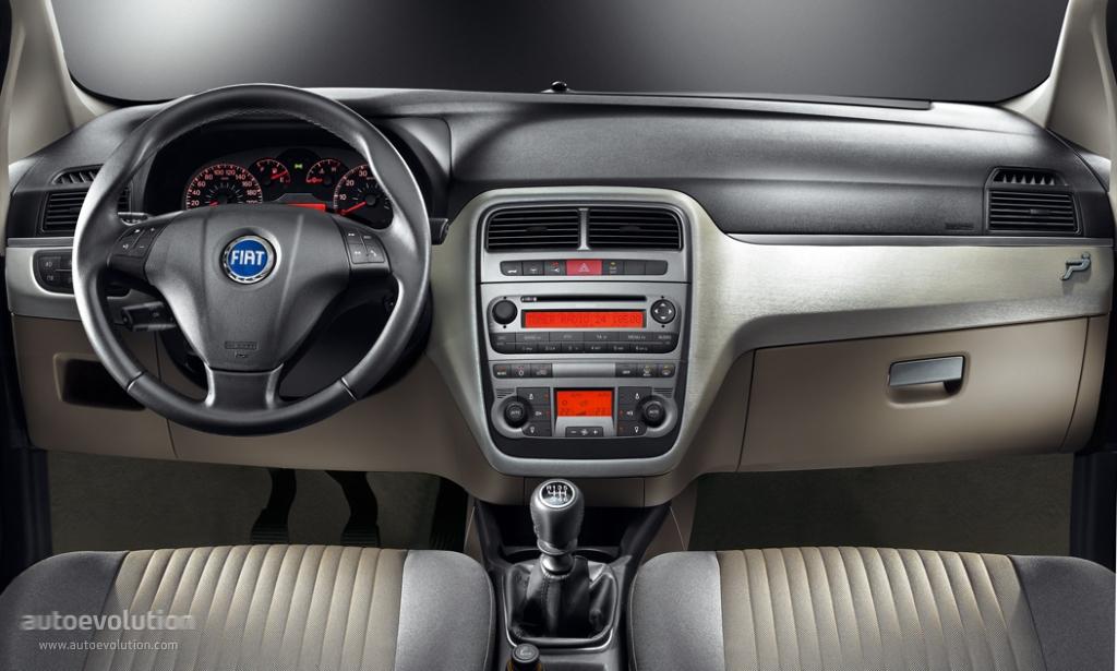 Interior Fiat Punto 2009